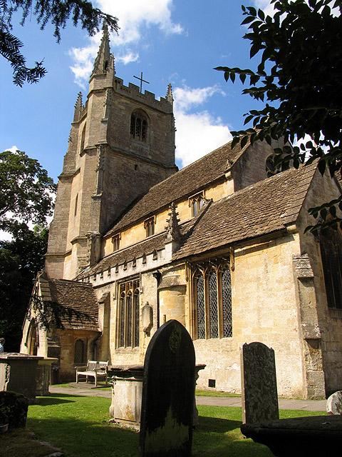 castle combe church