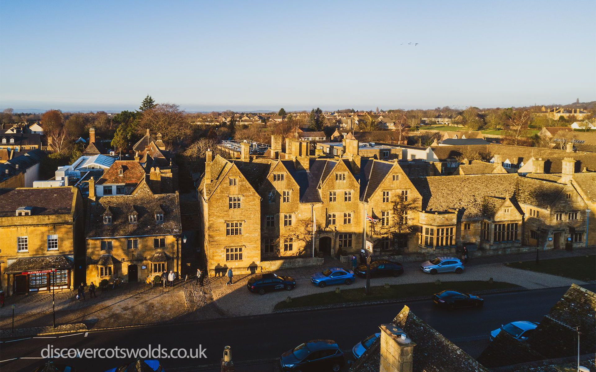 Lygon Arms Hotel in Broadway, Cotswolds
