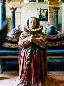 Elizabeth Cary in Burford Church
