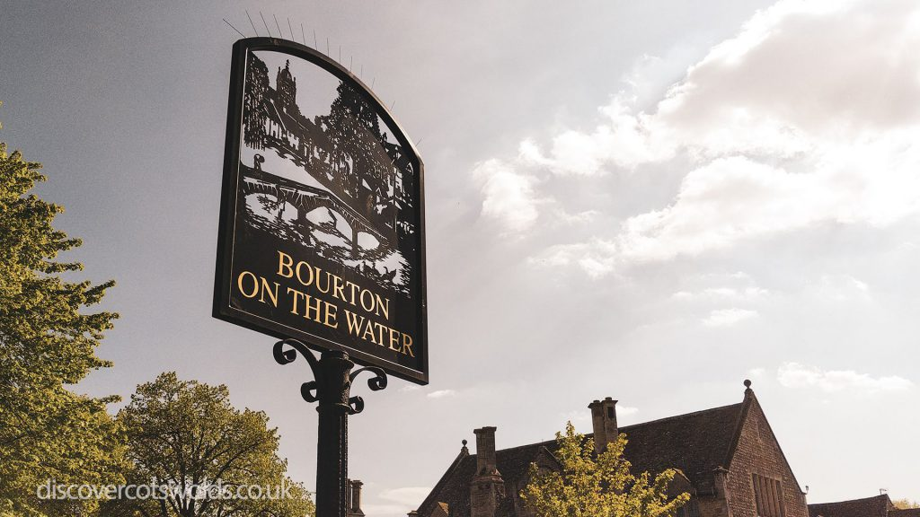 Bourton on the Water village sign
