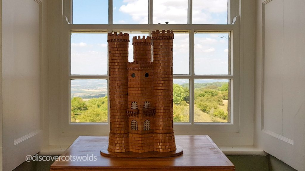 A model of Broadway Tower