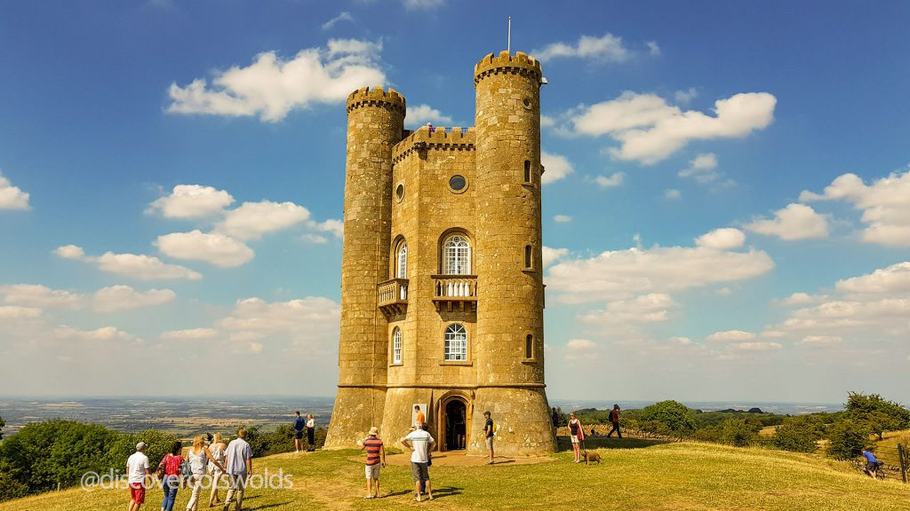 Broadway Tower on a sunny summer's day