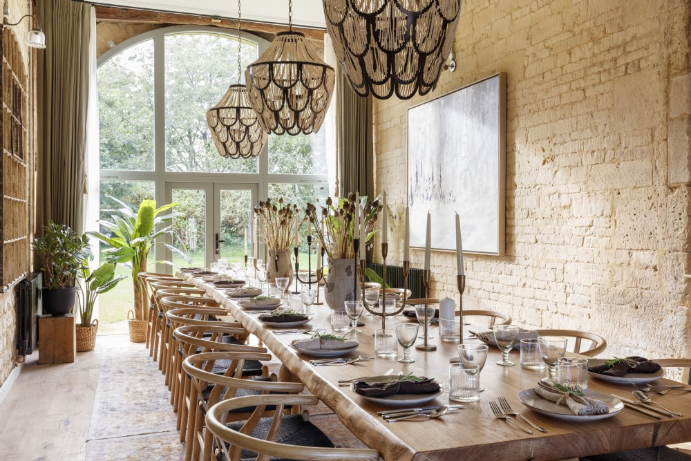 Anthology Farm dining room