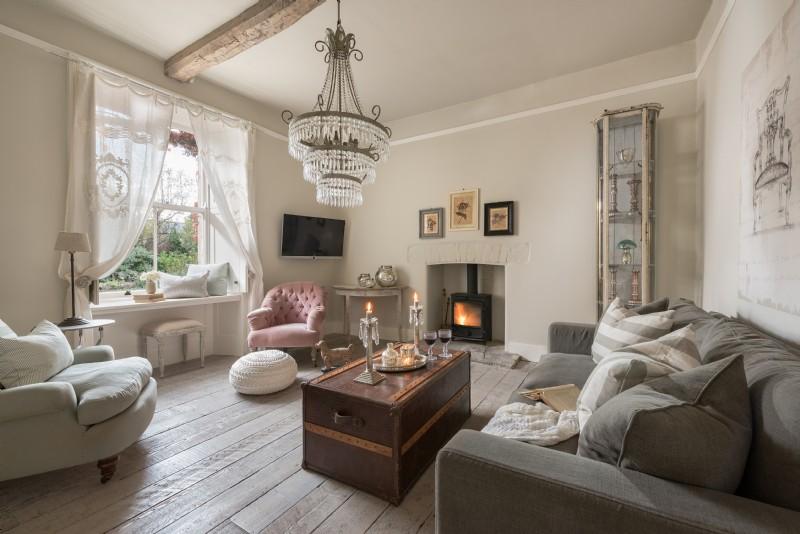 The Flower Press living room