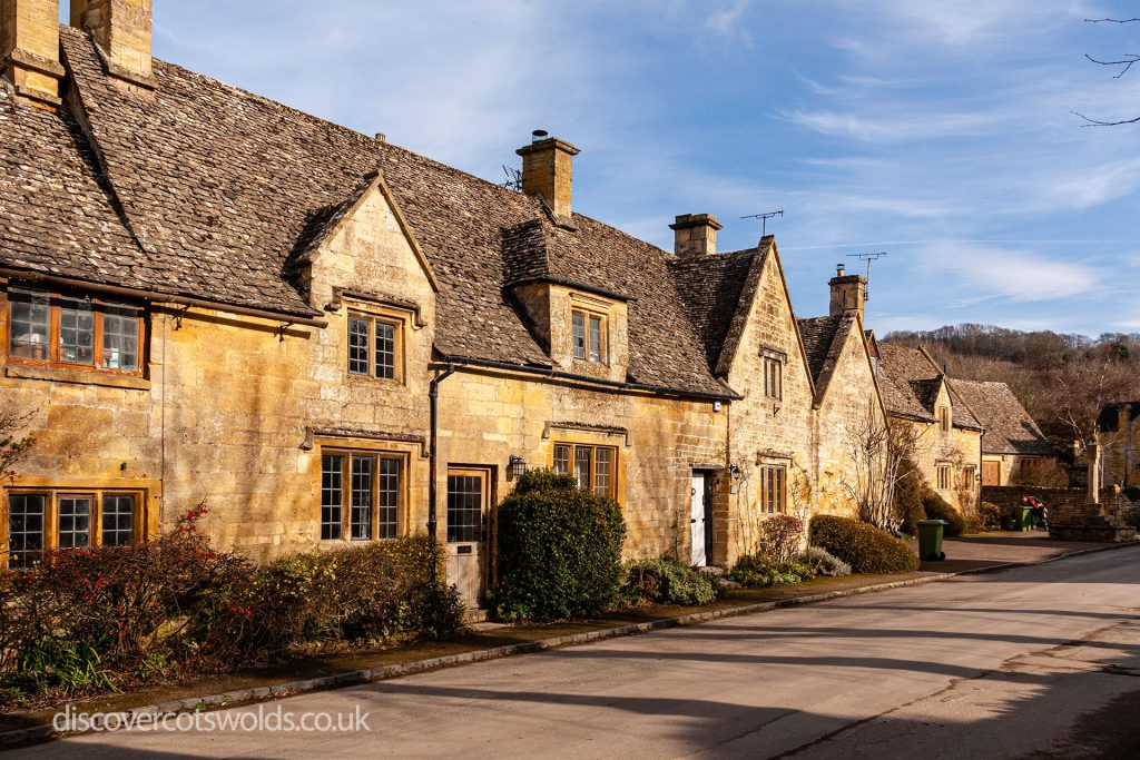 Cotswold stone cottages in Stanton