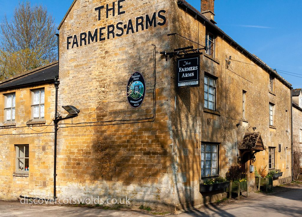 The Farmers Arms pub in Guiting Power