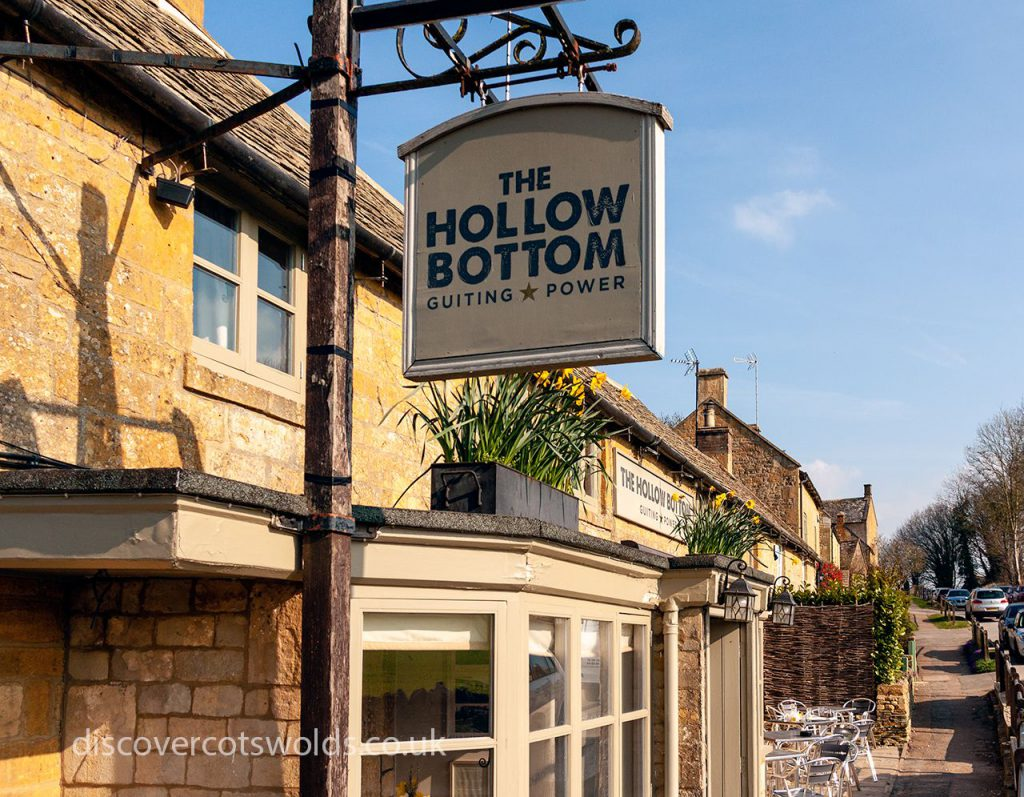 The Hollow Bottom in Guiting Power