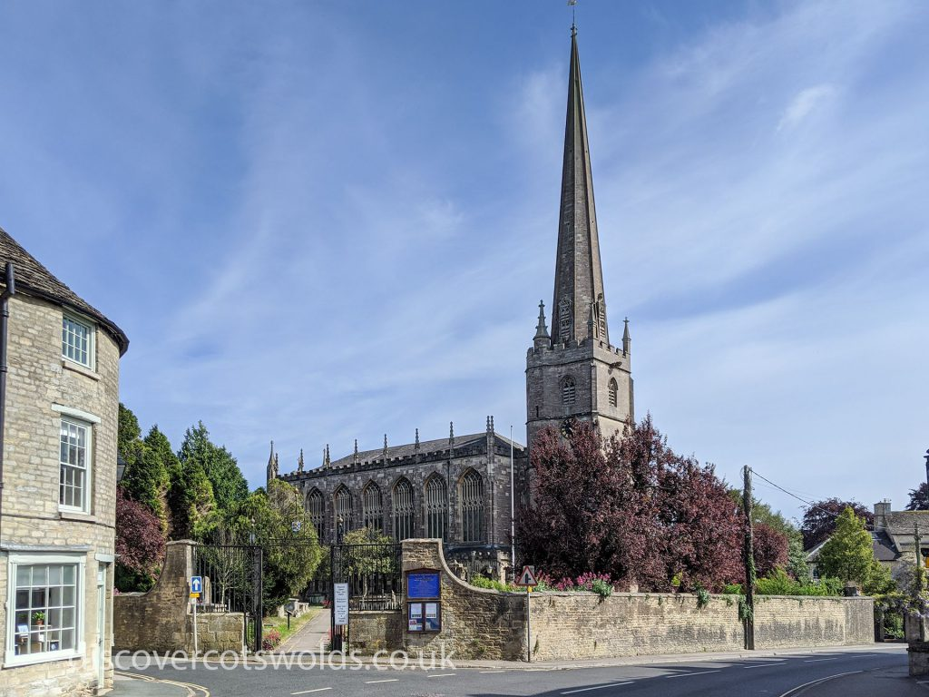 St Mary's church in Tetbury