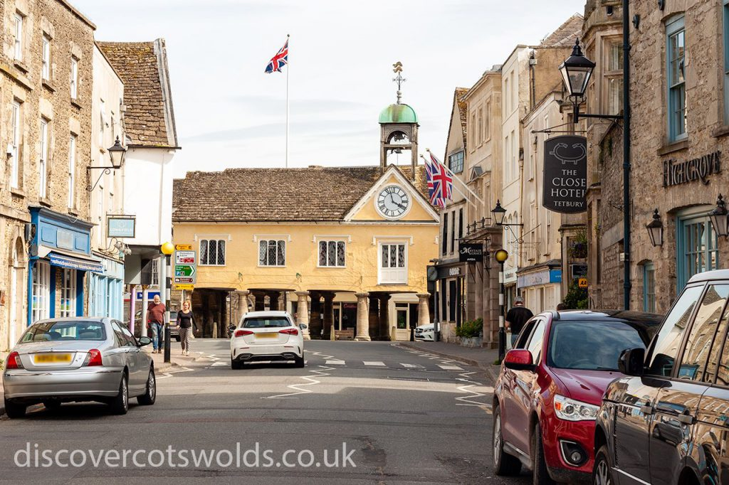 Long st in Tetbury, looking towards the Market House