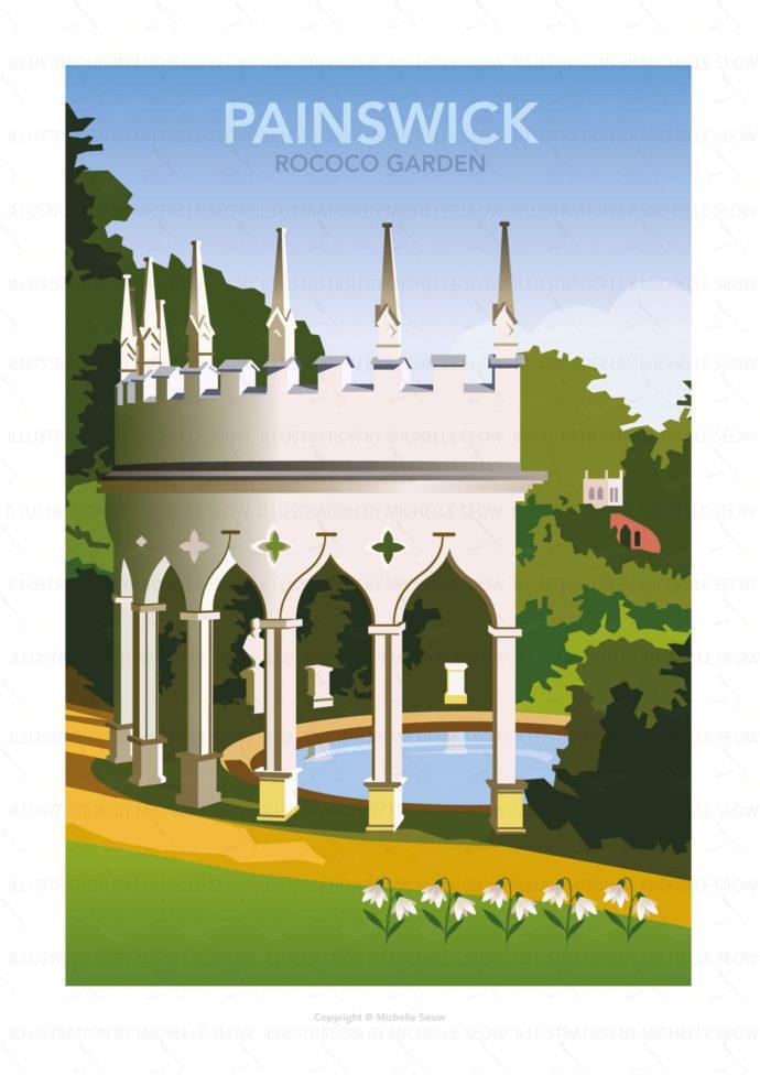 Illustration of Painswick Rococo Garden
