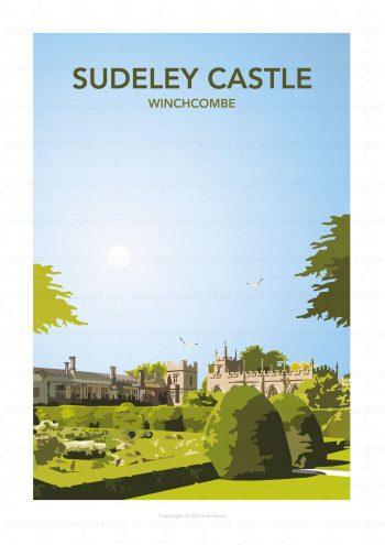 Portrait illustration of Sudeley Castle