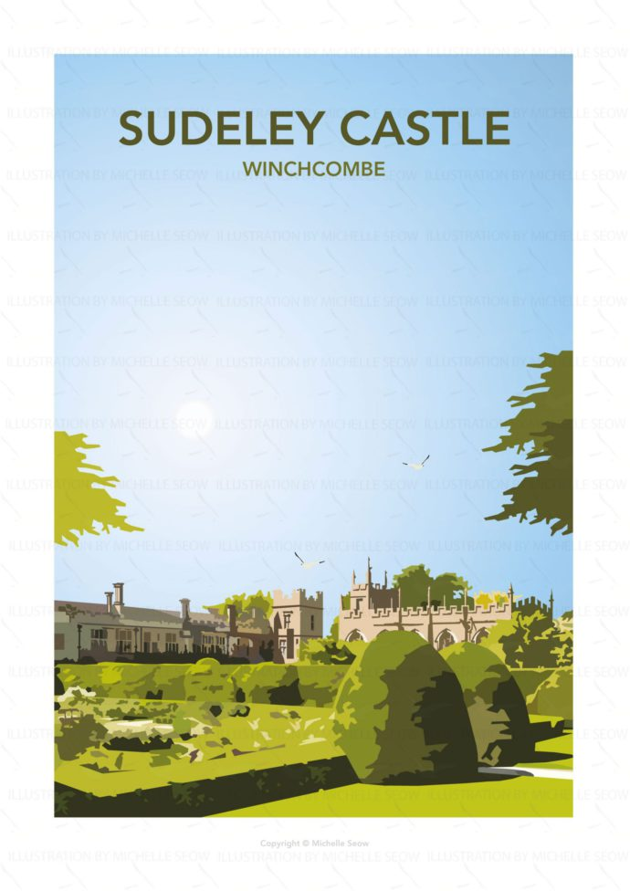 Portrait illustration of Sudeley Castle
