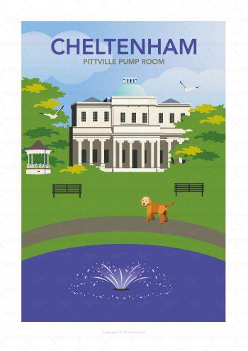 Illustration of Pittville Park, Cheltenham