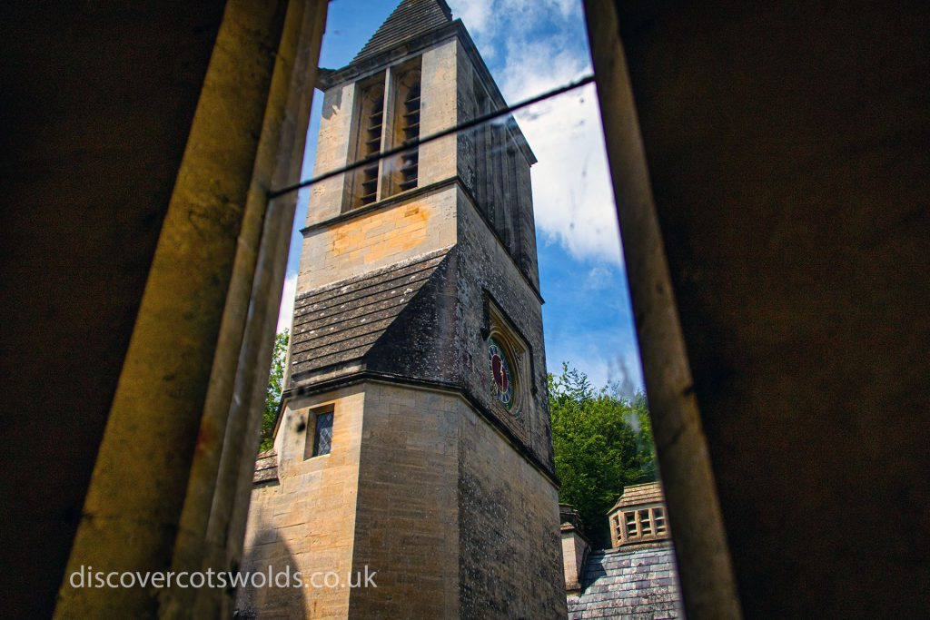 Woodchester Mansion clock tower