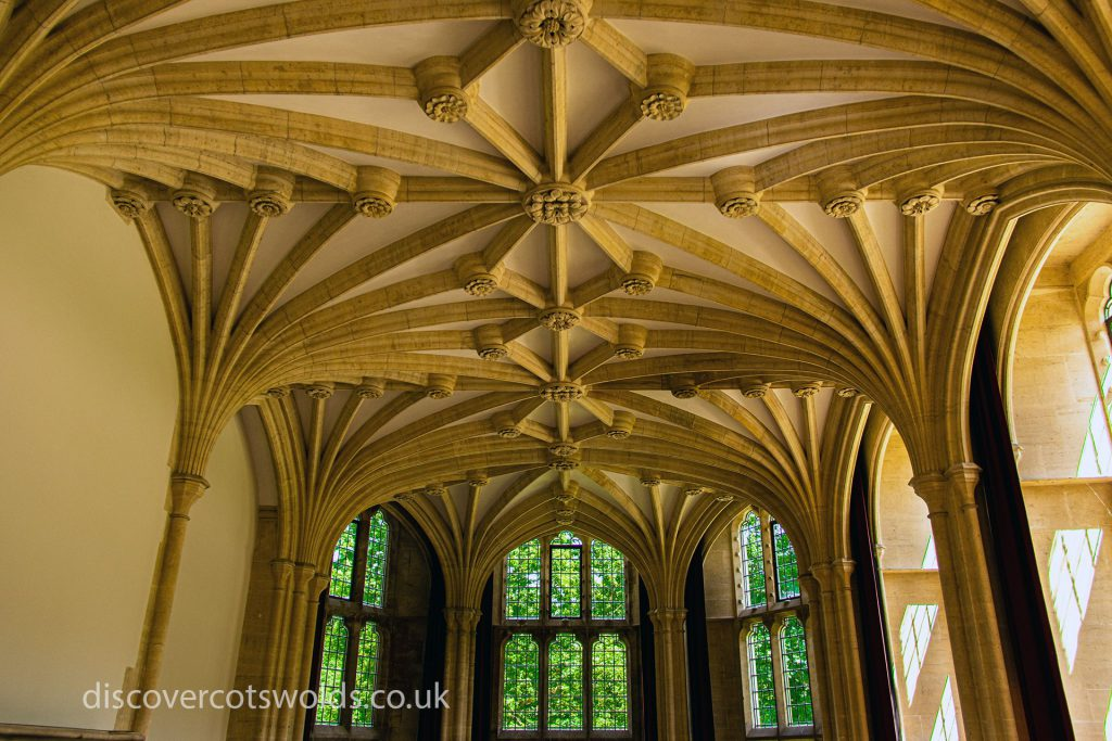 Woodchester Mansion vaulted ceiling
