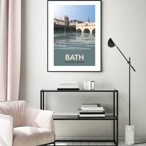 Bath Pulteney bridge wall mounted