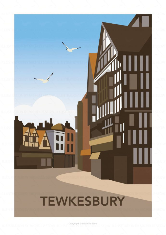 Illustration of Tewkesbury