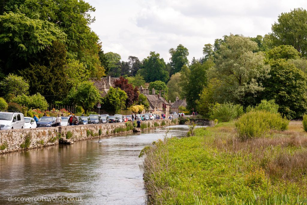 the river Coln in Bibury