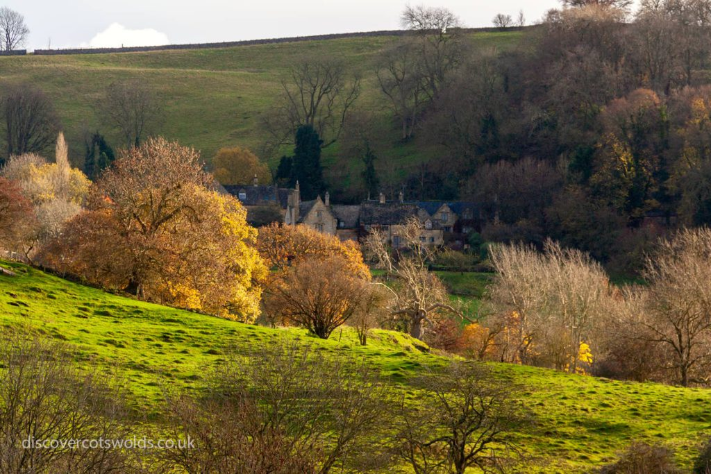 Cotswolds countryside in autumn