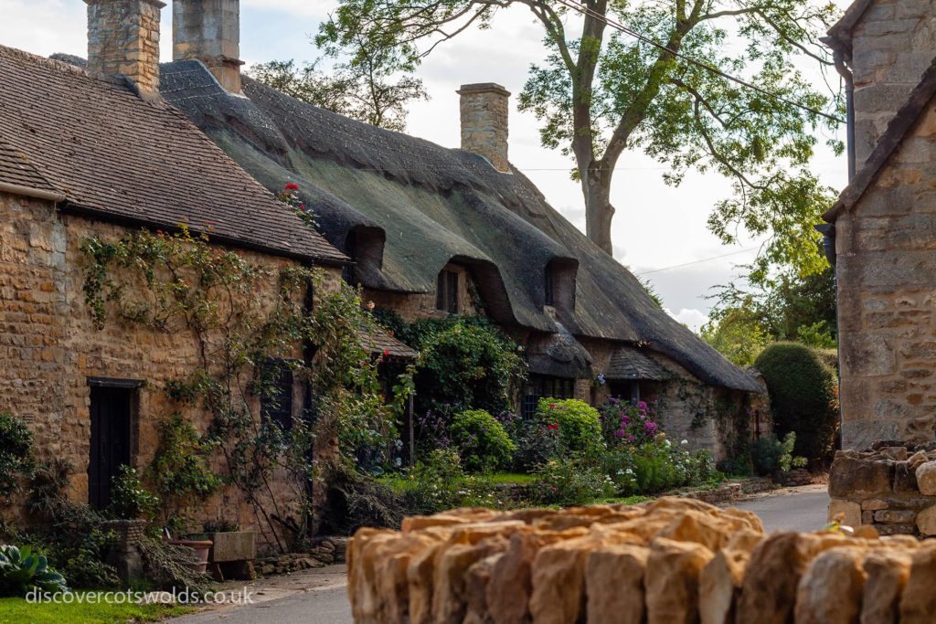 Traditional thatched cottage in Broad Campden