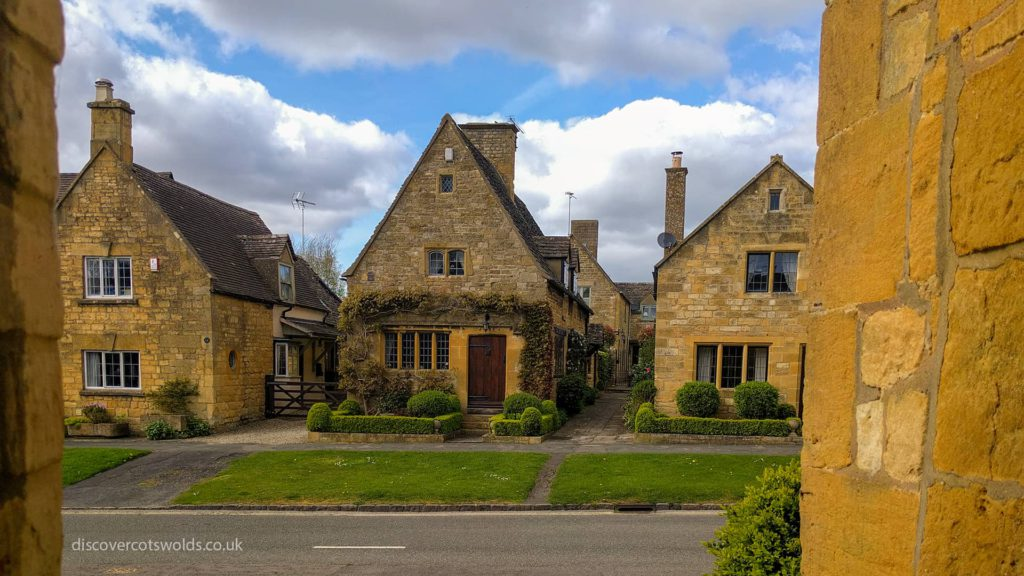 Cottages in Broadway, Cotswolds